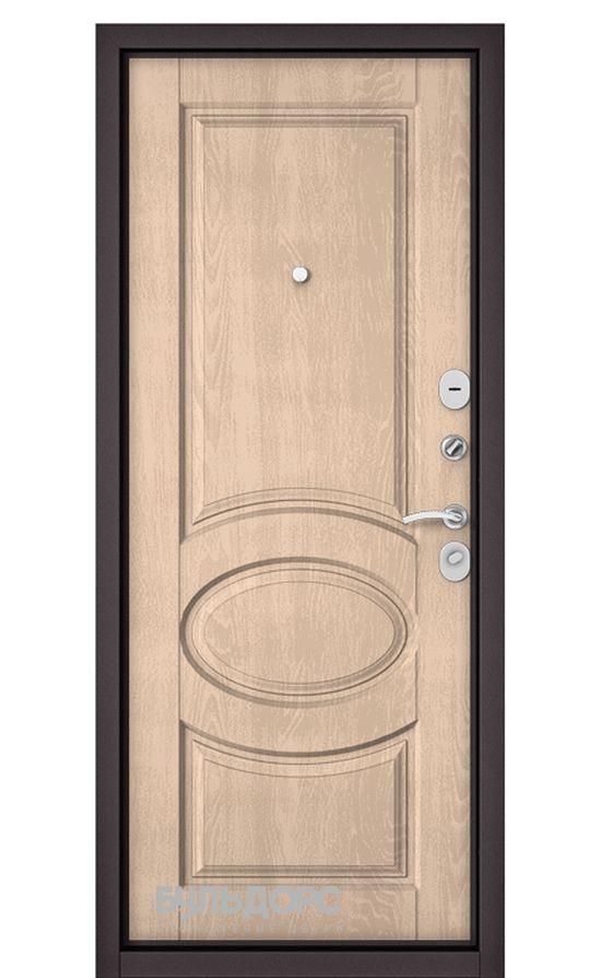 Входная дверь Бульдорс Mass 90 (МДФ с двух сторон). Дуб Крем