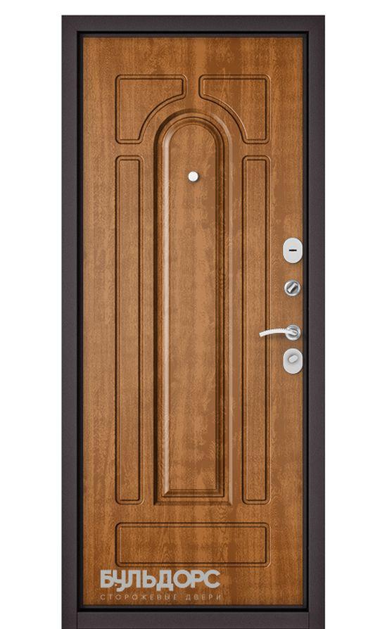 Входная дверь Бульдорс Mass 90 (МДФ с двух сторон). Дуб Медовый