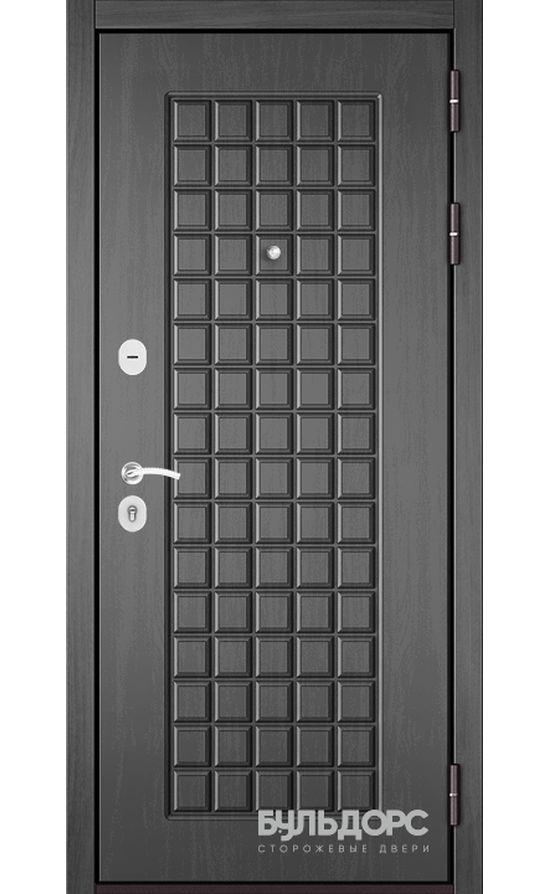 Входная дверь Бульдорс Mass 90 (МДФ с двух сторон). Дуб Серый 9S-112