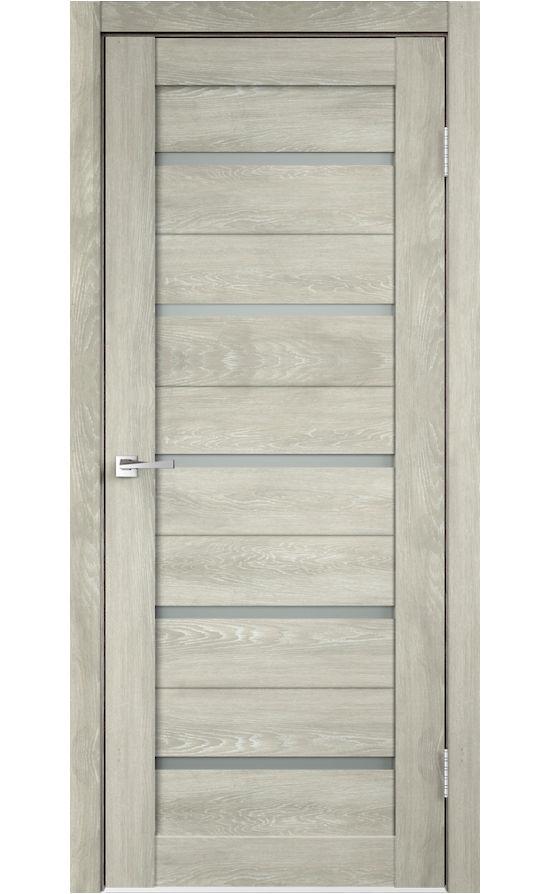 Дверь VellDoris, модель DUPLEX (дуб шале седой, мателюкс)