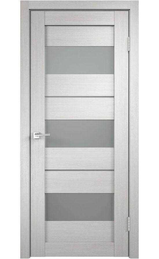 Дверь VellDoris, модель DUPLEX 12 (дуб беленый, мателюкс)
