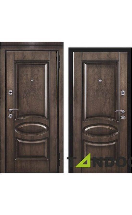 Двери Элит Securemme Дуб Темный в Симферополе