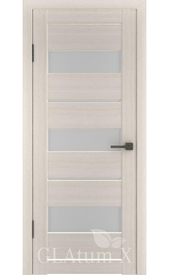 Двери Грин Лайн, модель GLAtum-X23 (беленый дуб) в Симферополе