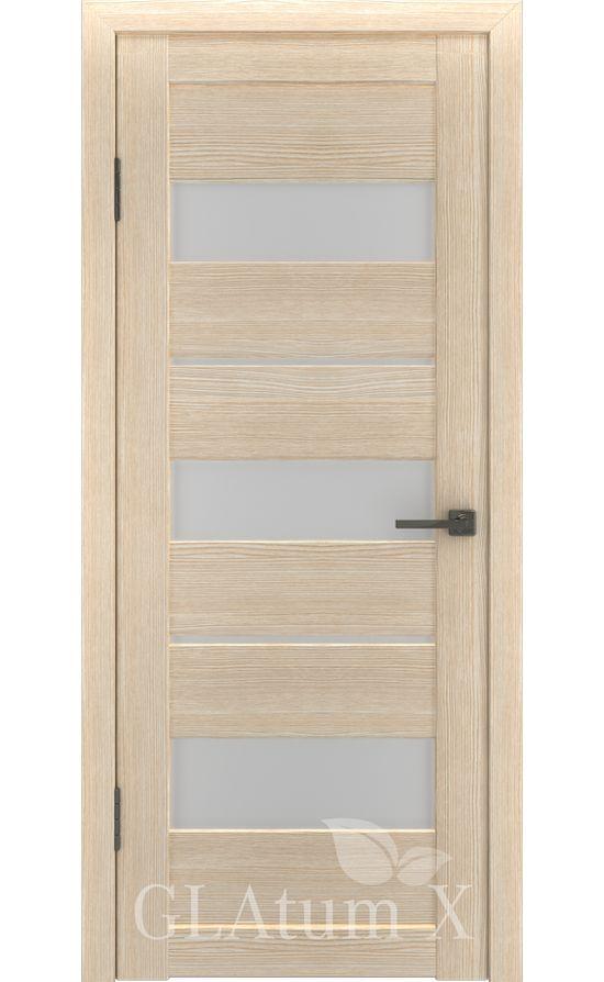 Двери Грин Лайн, модель GLAtum-X23 (капучино) в Симферополе