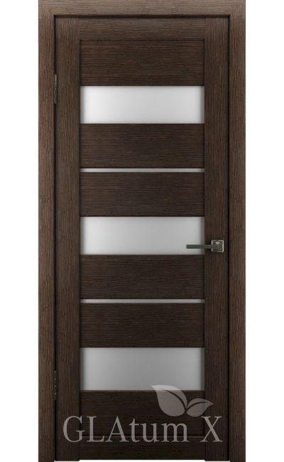 Двери Грин Лайн, модель GLAtum-X23 (венге) в Симферополе