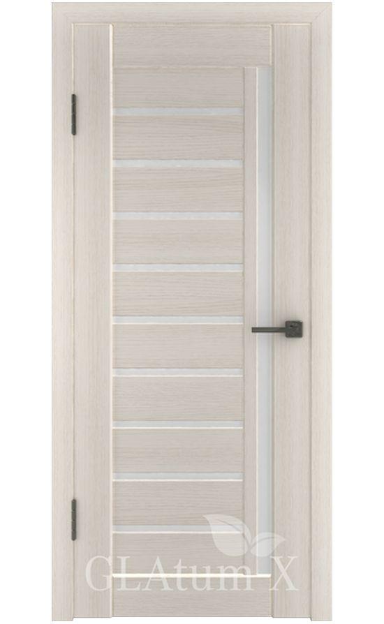 Двери Грин Лайн, модель GLAtum-X11 (беленый дуб) в Симферополе