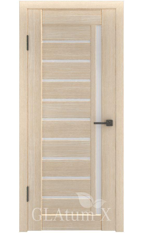Двери Грин Лайн, модель GLAtum-X11 (капучино) в Симферополе