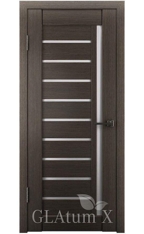 Двери Грин Лайн, модель GLAtum-X11 (серый дуб) в Симферополе