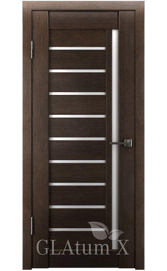 Двери Грин Лайн, модель GLAtum-X11 (венге) в Симферополе