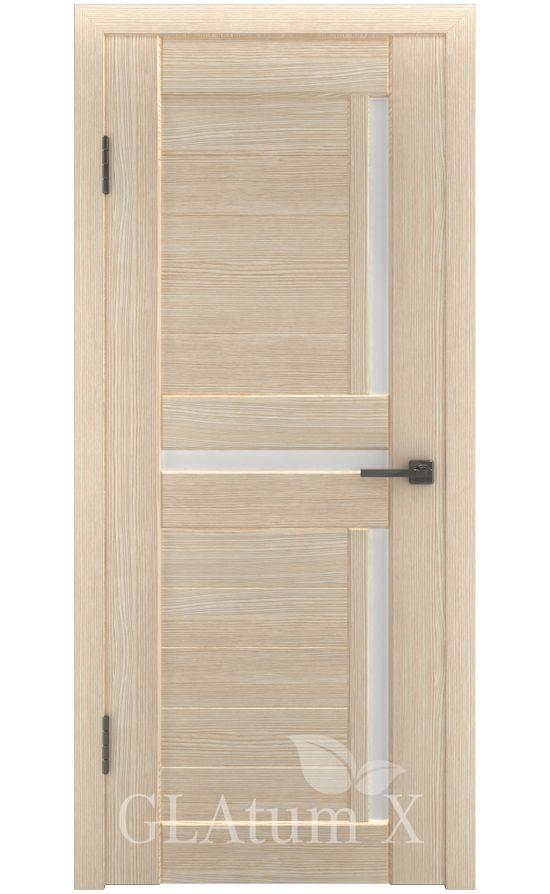 Двери Грин Лайн, модель GLAtum-X16 (капучино) в Симферополе
