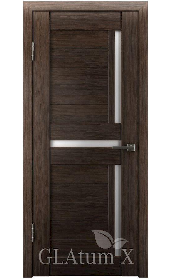 Двери Грин Лайн, модель GLAtum-X16 (венге) в Симферополе