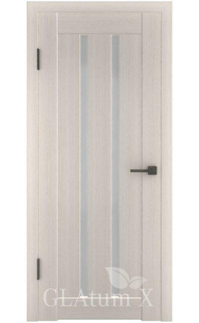 Двери Грин Лайн, модель GLAtum-X2 (беленый дуб) в Симферополе