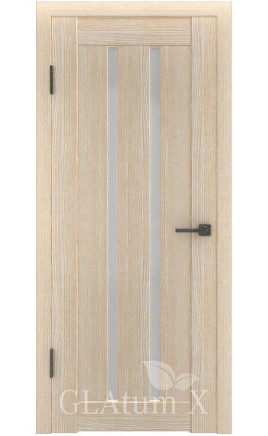Двери Грин Лайн, модель GLAtum-X2 (капучино) в Симферополе