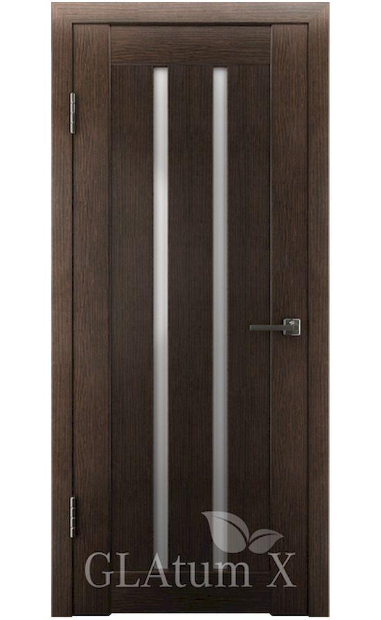Двери Грин Лайн, модель GLAtum-X2 (венге) в Симферополе