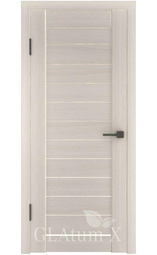 Двери Грин Лайн, модель GLAtum-X6 (беленый дуб) в Симферополе
