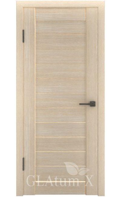 Двери Грин Лайн, модель GLAtum-X6 (капучино) в Симферополе