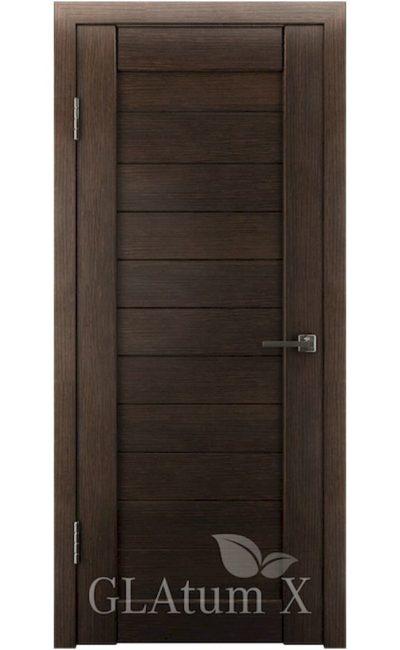 Двери Грин Лайн, модель GLAtum-X6 (венге) в Симферополе