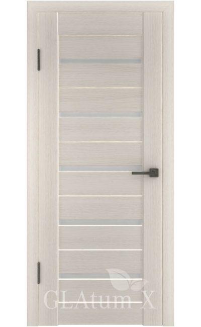 Двери Грин Лайн, модель GLAtum-X7 (беленый дуб) в Симферополе