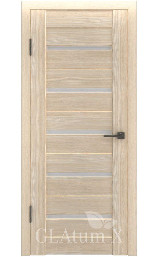 Двери Грин Лайн, модель GLAtum-X7 (капучино) в Симферополе