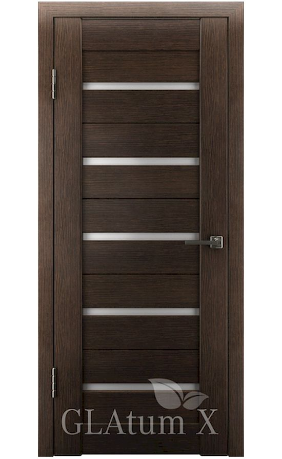 Двери Грин Лайн, модель GLAtum-X7 (венге) в Симферополе