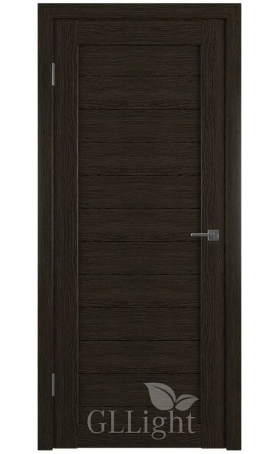 Двери Грин Лайн, модель GLLight 6 (дуб шоколад) в Симферополе