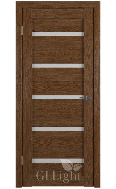 Двери Грин Лайн, модель GLLight 7 (дуб корица, белый сатинат) в Симферополе