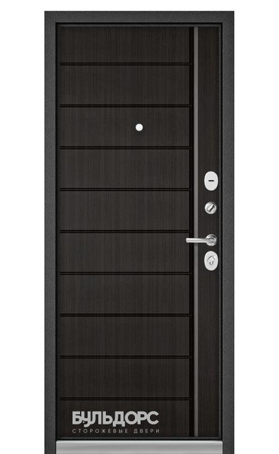 Входная дверь Бульдорс Standart 90 Шелк/Ларче Темный 9S-136