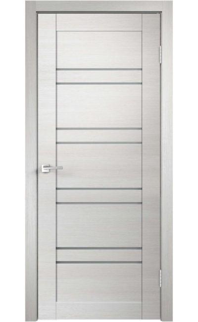 Дверь VellDoris, модель LINEA 8 (дуб белый)