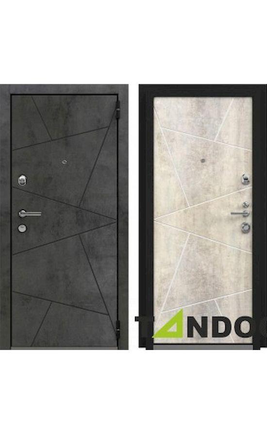 Двери Лофт Securemme Камень Светло-Серый в Симферополе