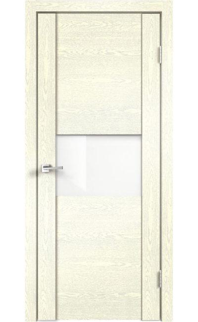 Дверь VellDoris, модель MODERN 1 (слоновая кость, стекло)