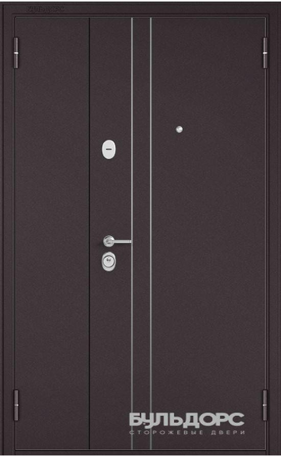 Входная дверь Бульдорс Mega 1200 Золотой Дуб X-102