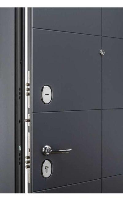 Входные двери в Симферополе - Porta S 10.П50 (AB-6) Graphite ProVirgin.