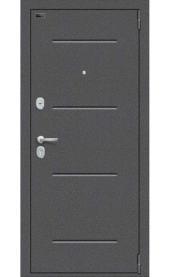 Входные двери в Симферополе - Porta S 104.К32 Антик Серебро Bianco Veralinga.