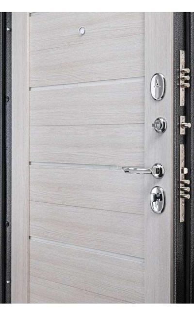 Входные двери в Симферополе - Porta S 104.П22 Антик Серебро Bianco Veralinga.