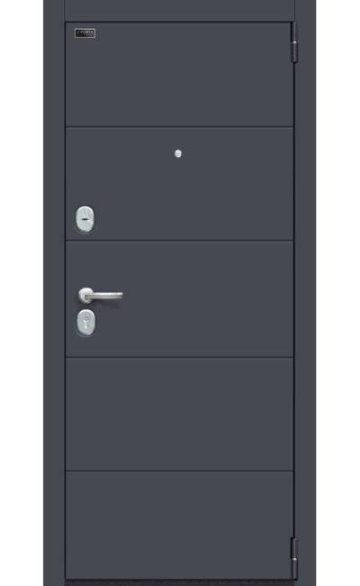Входные двери в Симферополе - Porta S 4.Л22 Graphite Pro/Nordic Oak.