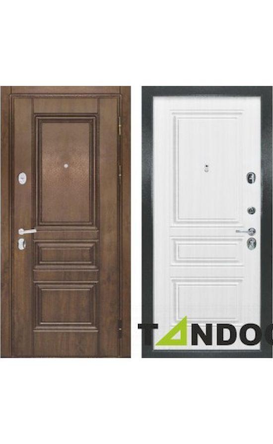 Двери Рим Дуб темный Сандал белый в Симферополе