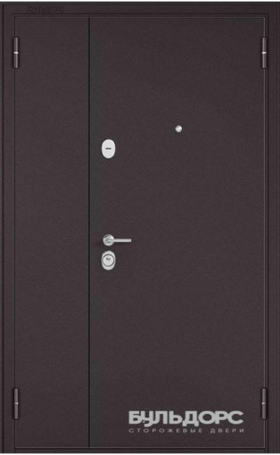 Входная дверь Бульдорс Mass 90 (Металл/МДФ). Ларче Шоколад 9S-104