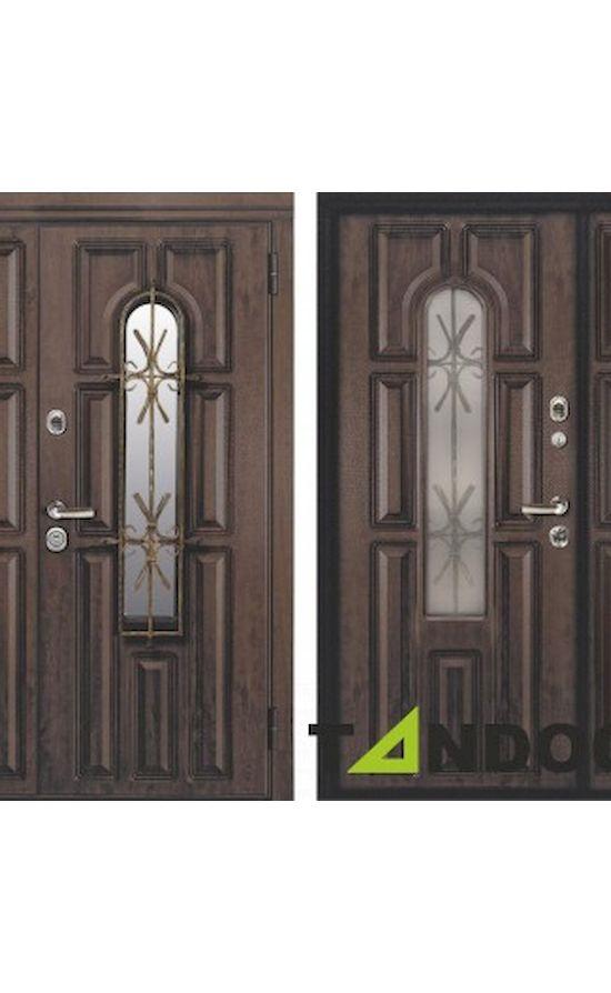 Двери Сорренто Securemme Дуб Темный в Симферополе
