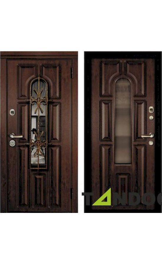 Двери Соренто Securemme Дуб Темный в Симферополе