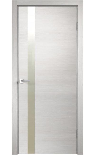 Дверь VellDoris, модель TECHNO Z1 (дуб белый)