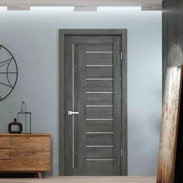 Двери из экошпона в интерьере Симферополя