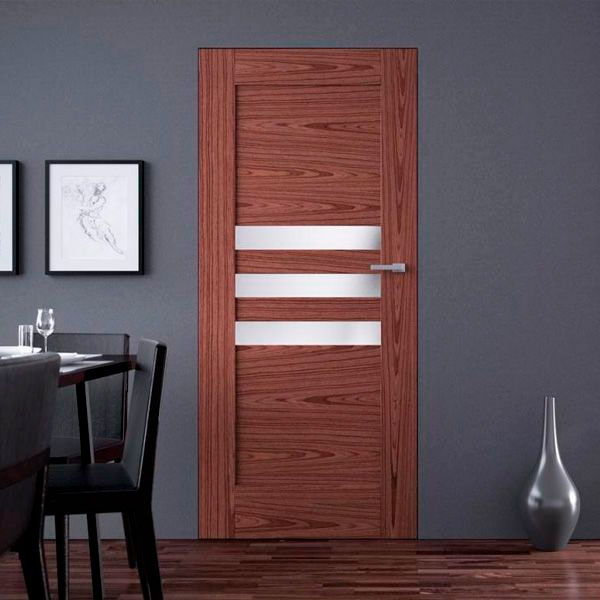 Двери из шпона Файн-лайн